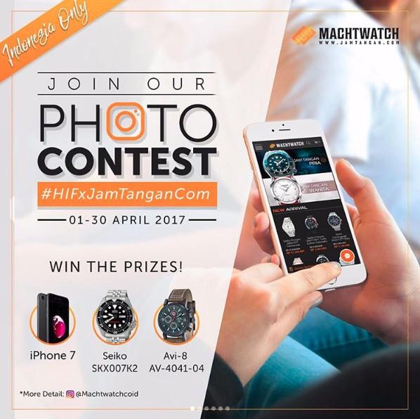 Photo Contest HIFxJamtangan.com