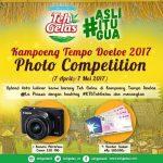 Kampoeng Tempo Doeloe 2017 Photo Competition