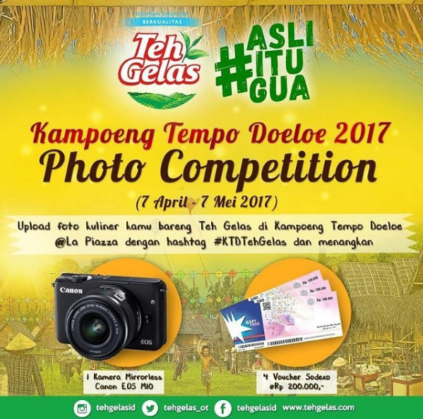 Kampoeng Tempo Doeloe 2017 Photo Competition