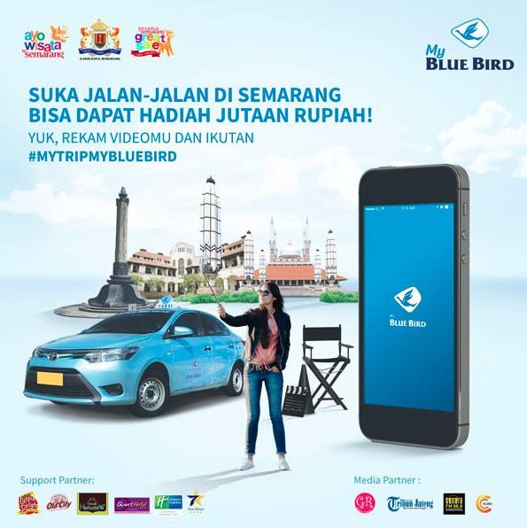 Ayo Wisata ke Semarang. My Trip, My Blue Bird