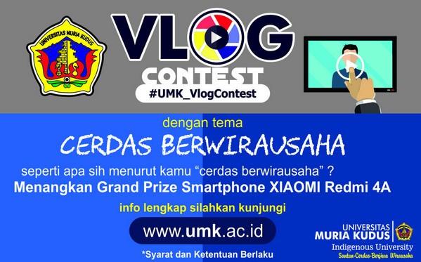 UMK Vlog Contest - Cerdas dalam Berwira Usaha