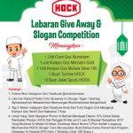Lebaran Give Away dan Slogan Competition