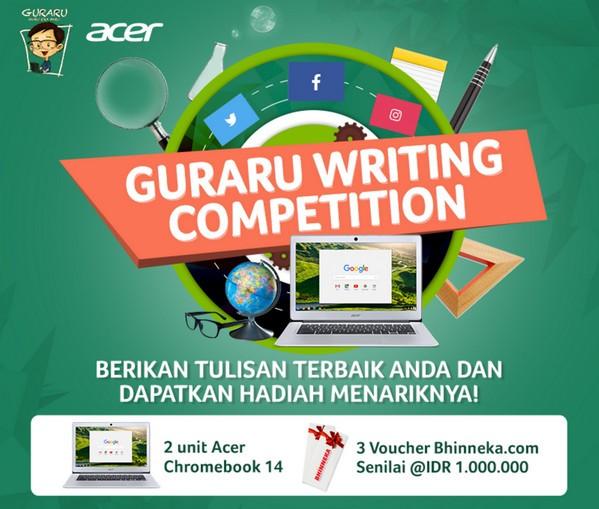 Guraru Writing Competition