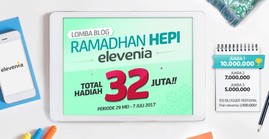 Lomba Blog Ramadhan Hepi Elevenia