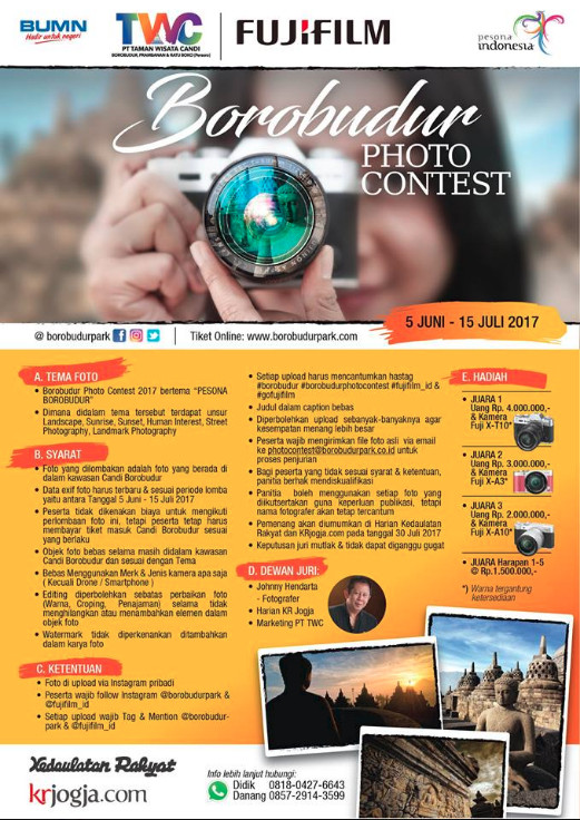 Borobudur Photo Contest -PESONA BOROBUDUR