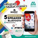 Kuis Regram Mulia Ceramics Berhadiah 5 Bluetooth Speaker Gratis