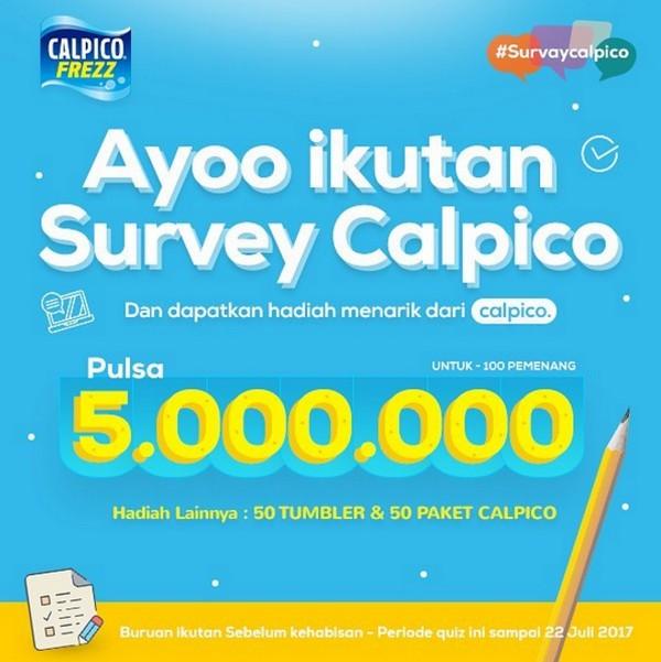 SURVEY KEPUASAN PELANGGAN PT CALPIS INDONESIA