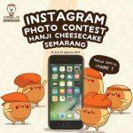 Instagram Photo Contest Hanji Cheesecake Semarang