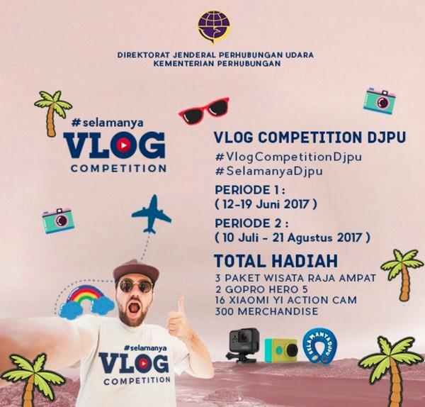 Vlog Competition -Keselamatan, keamanan dan kenyamanan penerbangan
