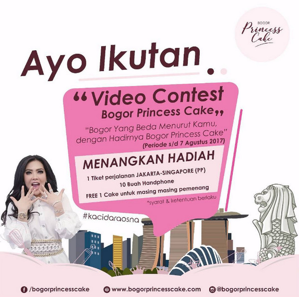 Video Contest Bogor Princess Cake