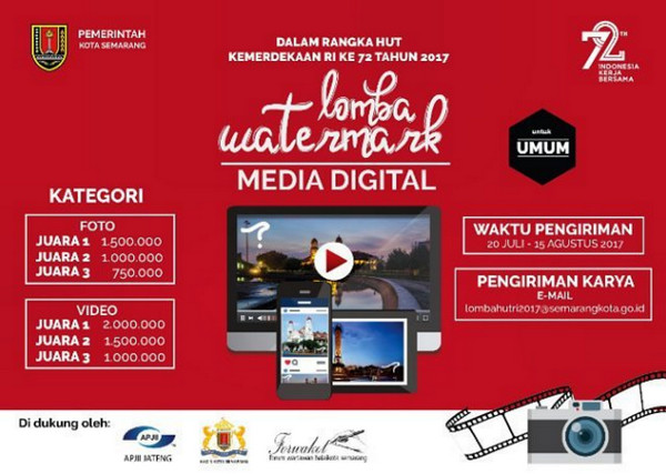 Lomba Watermark Media Digital