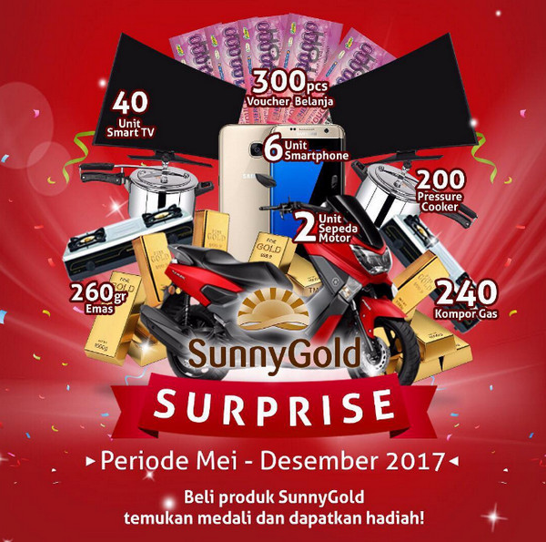 Sunny Gold Surprise