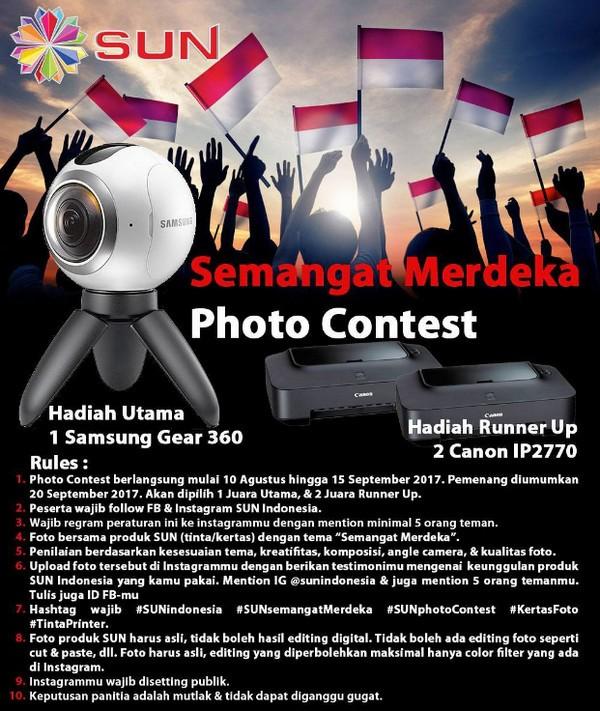 Semangat Merdeka Photo Contest