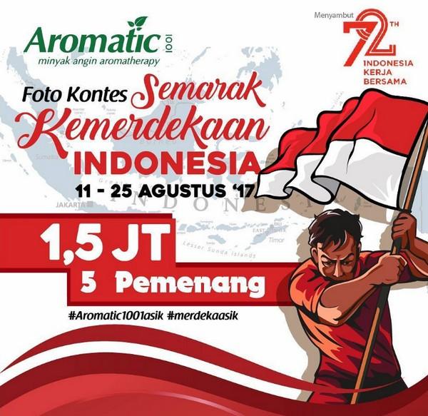 Kontes Foto Semarak Kemerdekaan Indonesia Berhadiah Uang Total 1 5