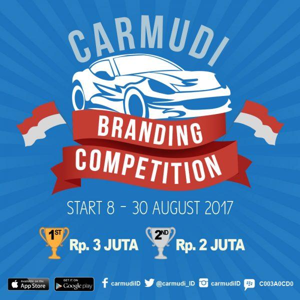 Lomba Desain Sticker Branding Carmudi Berhadiah Uang Total 5 Juta