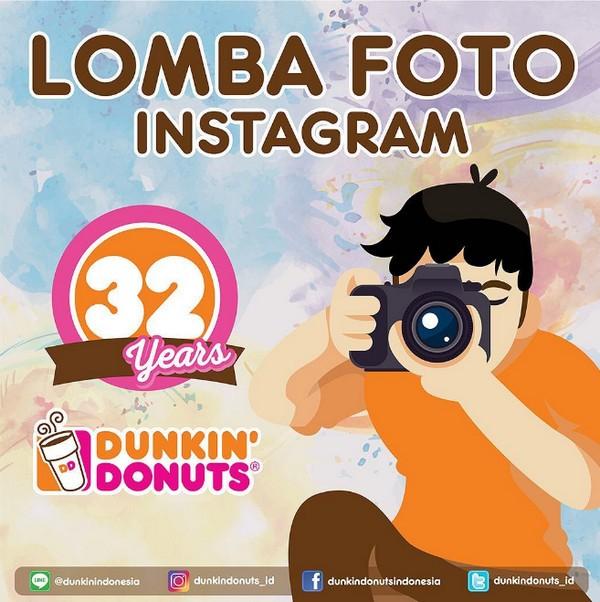 Lomba Foto Instagram Dunkin' Donuts Berhadiah Voucher Jutaan Rupiah