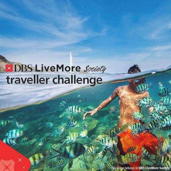 DBS LiveMore Society: Traveller Challenge