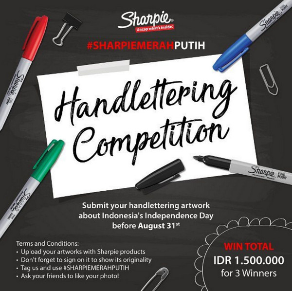 Sharpie Handlettering Competition