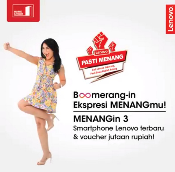 Lomba Video Lenovo Pasti Menang Berhadiah 3 Smartphone Lenovo & Voucher Belanja