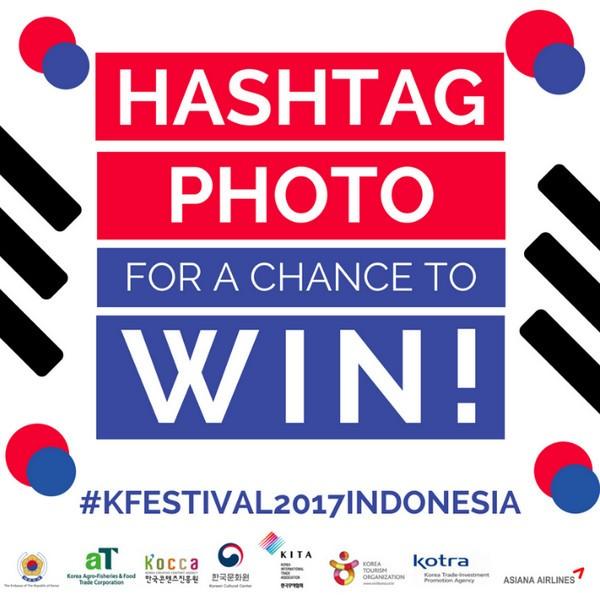 Hashtag PhotoK FESTIVAL 2017 INDONESIA